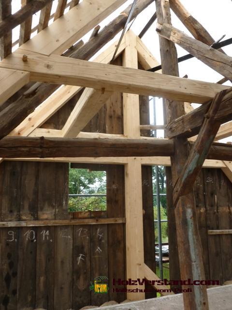 Fachwerkgiebel for Holzschutzmittel fachwerk